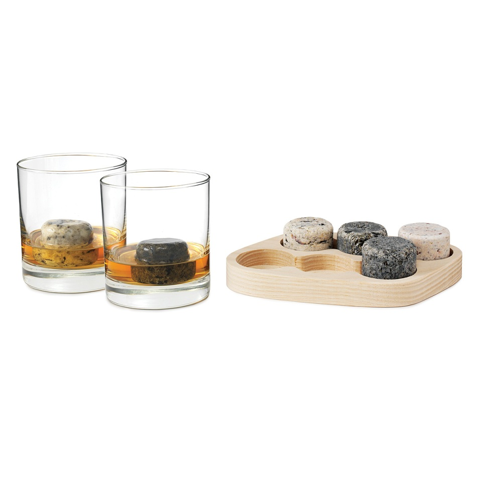"""On the rocks"" gift set"