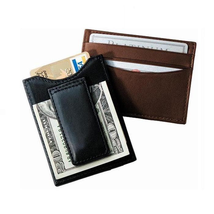 Brookstone money clip & wallet