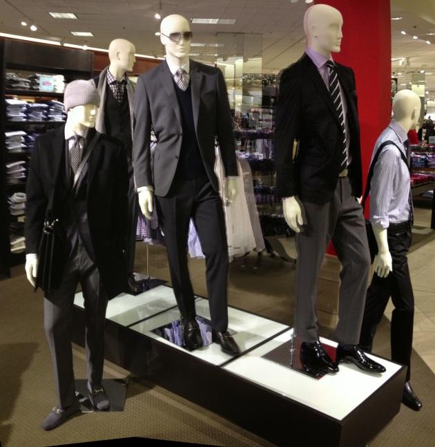 menswear platform w/ looks from Hugo Boss, Bruno Magli, John Varvatos