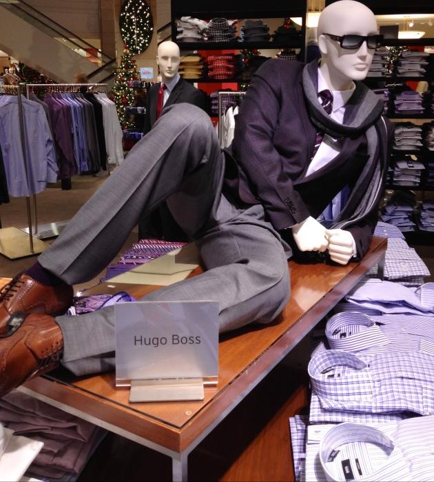 mannequin featuring Hugo Boss