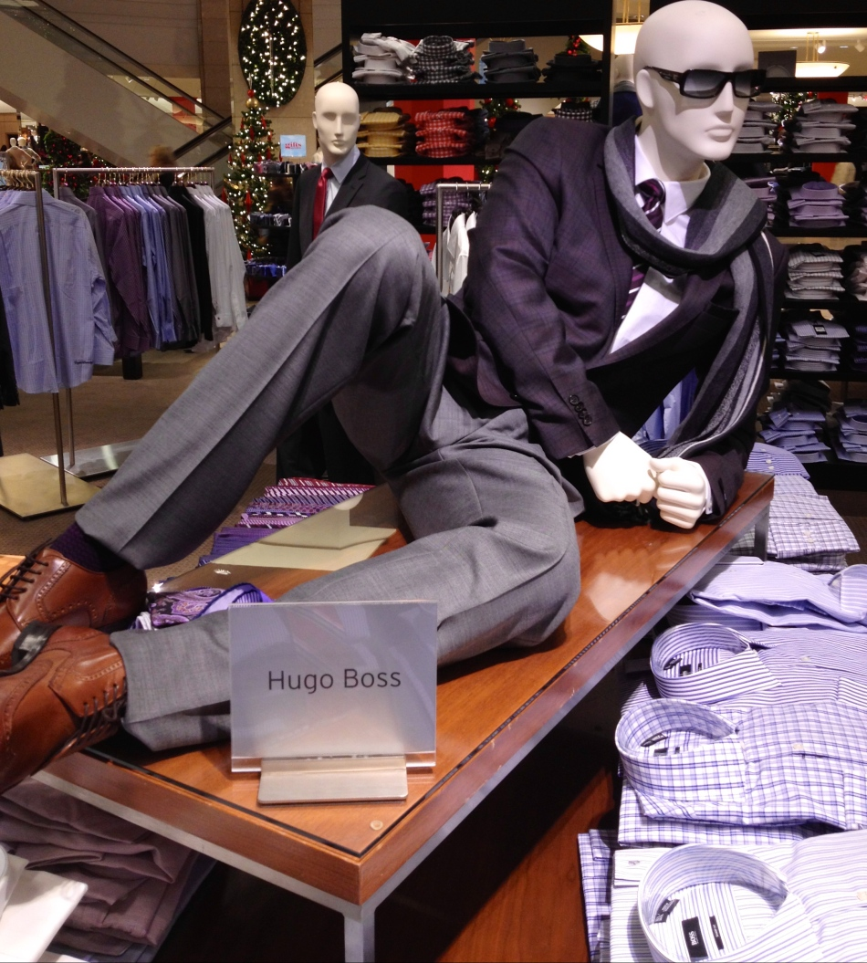 mannequin featuring Hugo Boss