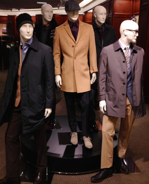 menswear platform featuring Sanyo, Burberry, Cardinal of Canada