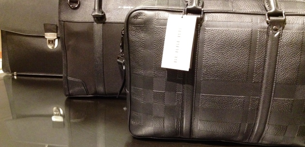 Modern attache cases by Kenneth Cole & Burberry