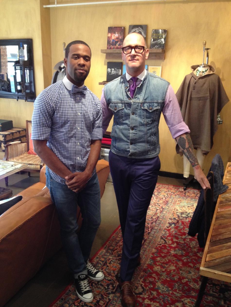Designer Alexander Sumner & associate Ernie Ulysse