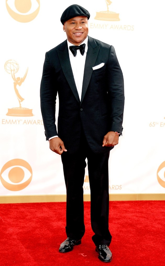LL Cool J in Zegna