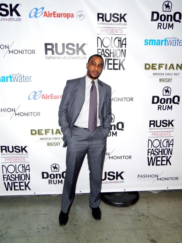 grey pinstripe suit, flat front trouser, lavender tie