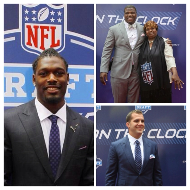 Top 3 draft pics, Clowney, Robinson, and Bortles